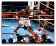 Buster Douglas Takes Down Mike Tyson